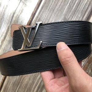 Louis Vuitton Black Belt LVM9604U